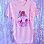 I Want To Become A Magical Girl! - Pink Unisex T-Shirt