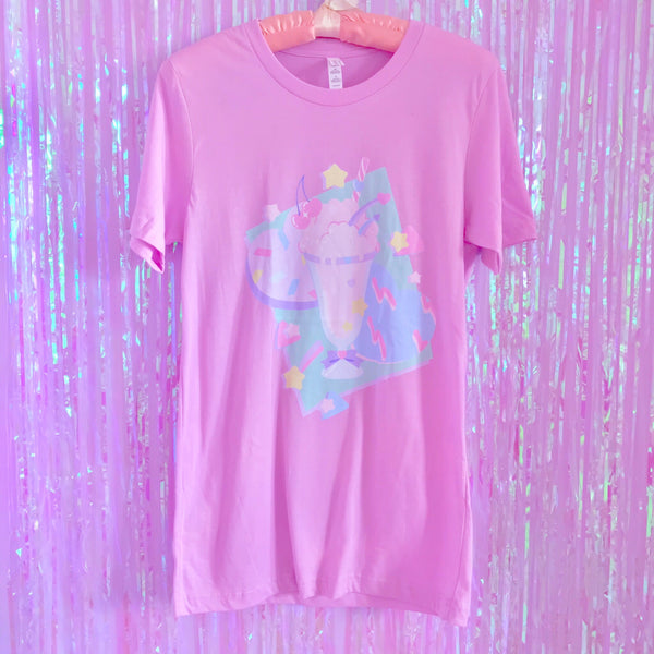 Dreamy Soda Float - Unisex T-Shirt - Lilac