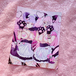 Nyaa~Parfum and Lavender - Art Print 4 x 5 in