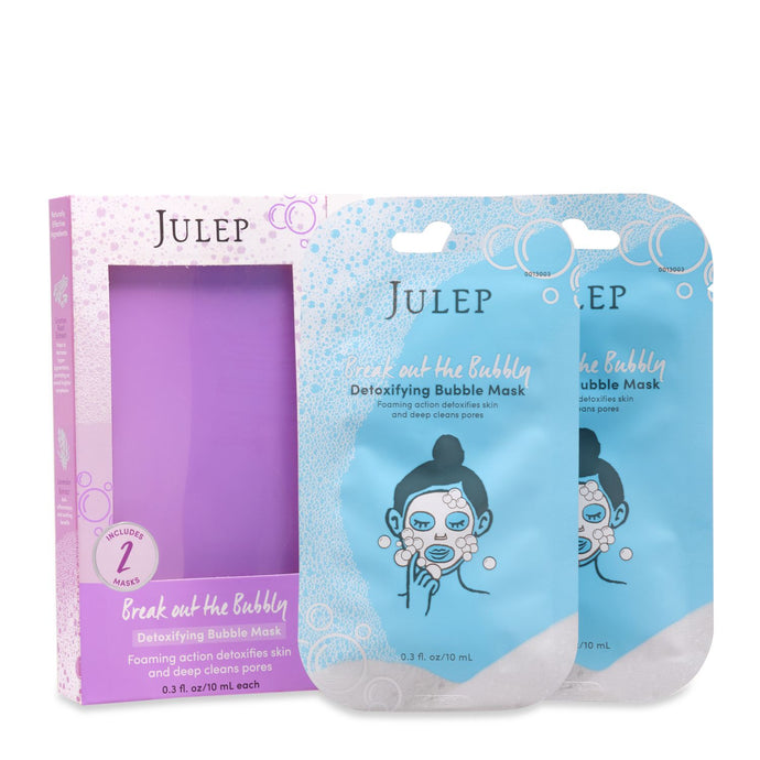 Break Out The Bubbly - Detoxifying Bubble Masks (2pc)