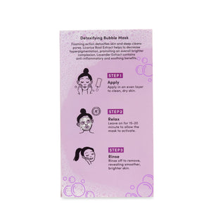 Break Out The Bubbly - Detoxifying Masks Pink