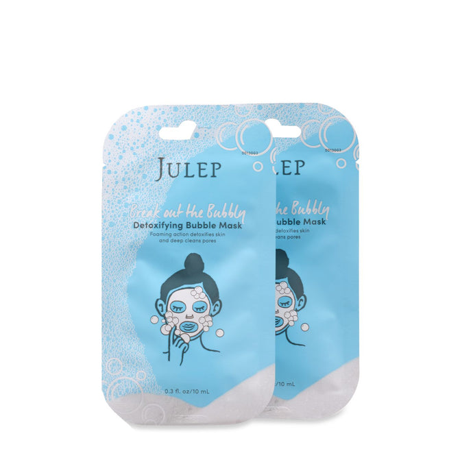 Break Out The Bubbly - Detoxifying Masks Blue