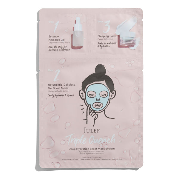Triple Quench Deep Hydration Sheet Mask System - 2 pack