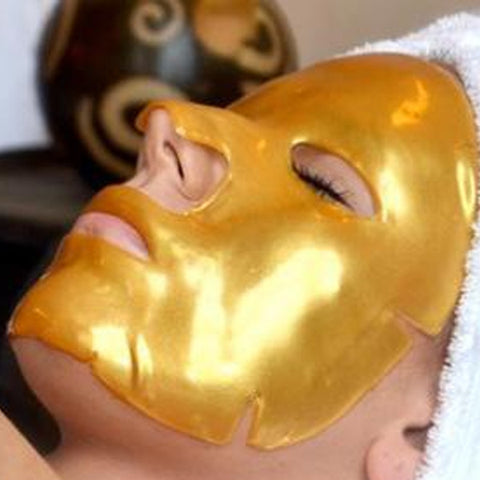 Golden Anti-Aging Luxurious Collagen Skincare Mask
