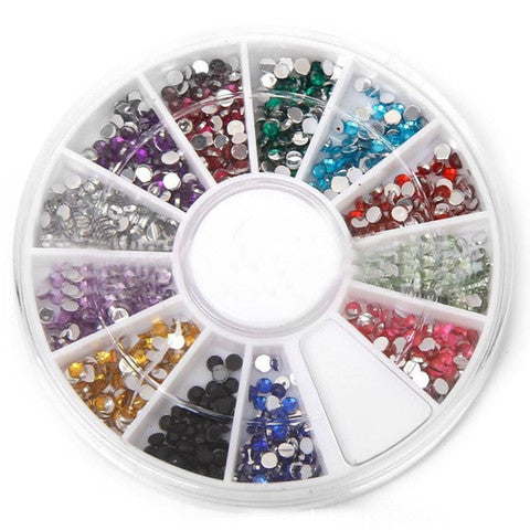 12 Color Nail Art Wheel