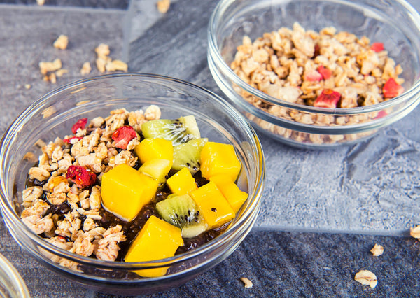 oats on top with fruits