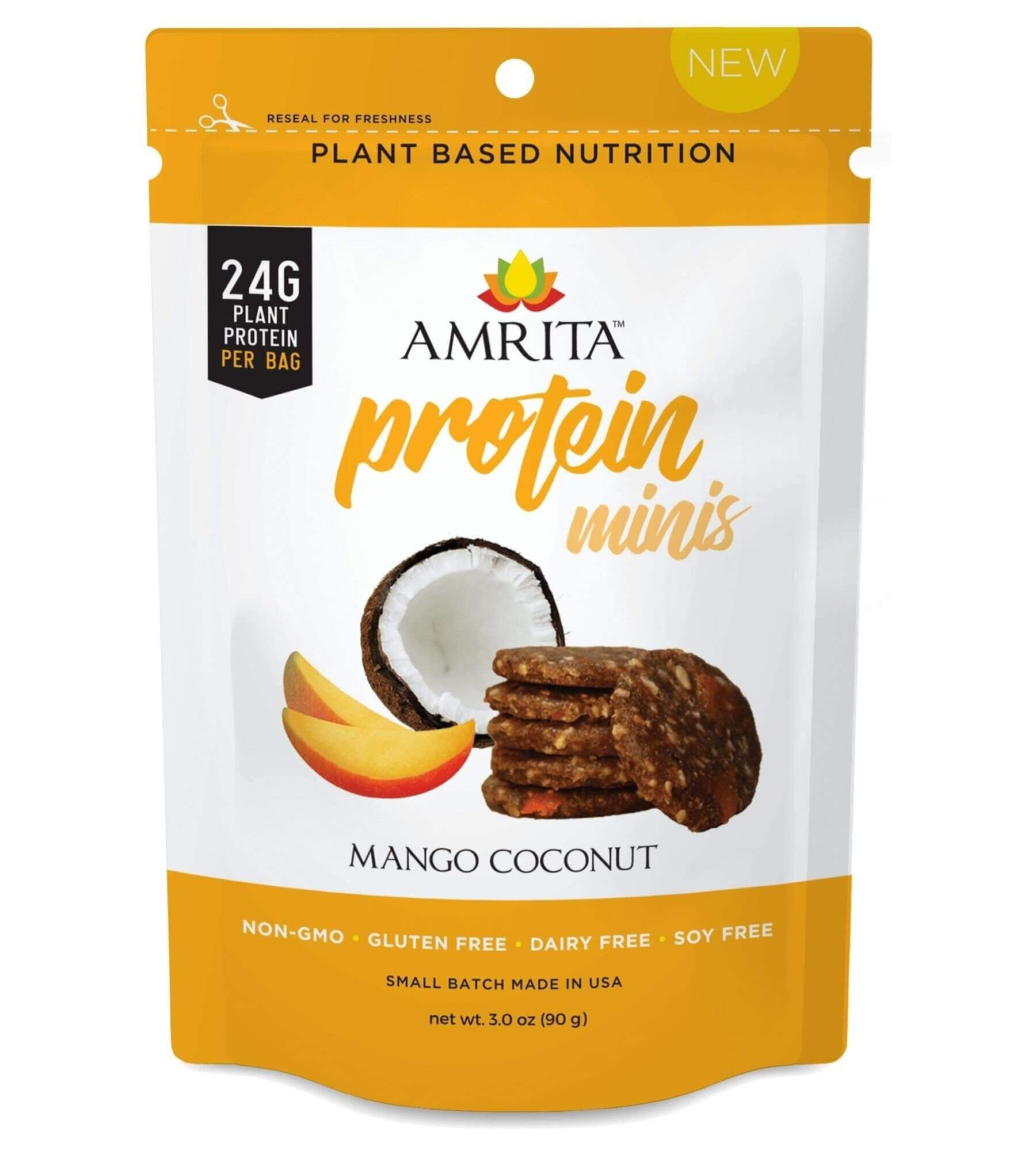 Mango Coconut High Protein Minis