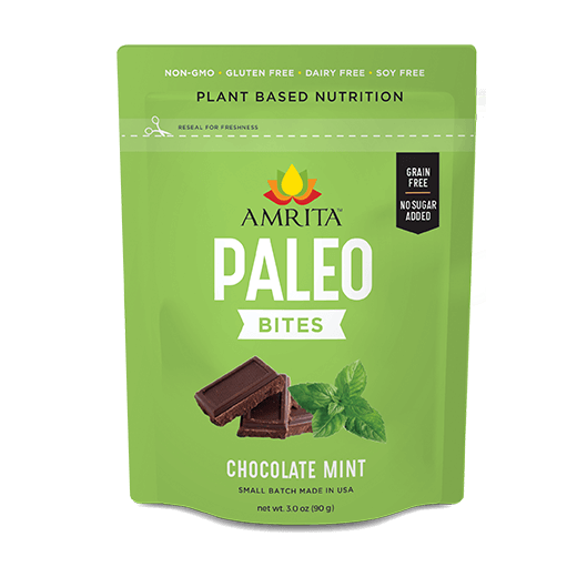 Paleo Chocolate Mint Bites