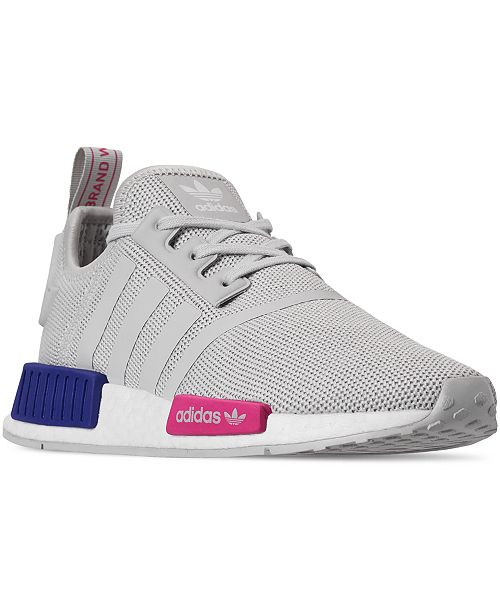 new concept f5a98 a0043 Adidas Youth Grey NMD R1 EE6674
