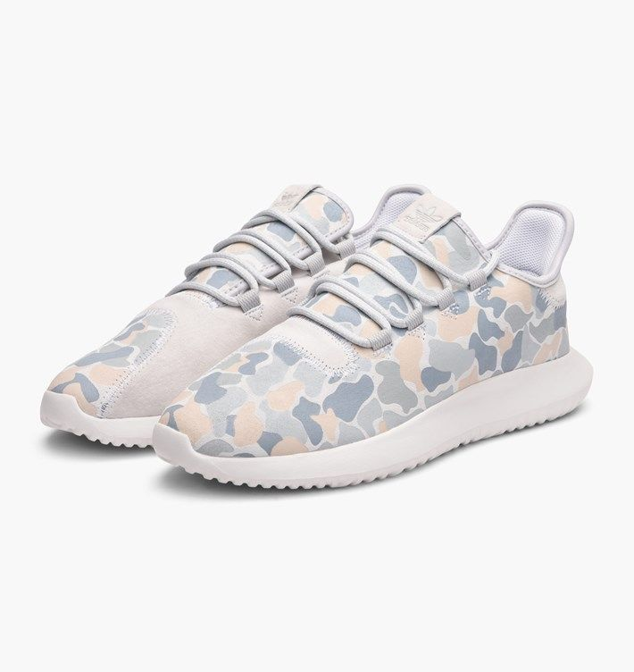 cb0e58ff0f313 NEW ADIDAS TUBULAR SHADOW MEN S WHITE CAMO SUEDE RUNNING SHOES BB8817