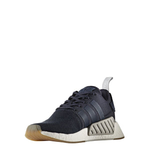 reputable site cee77 50eca New adidas nmd r1 runner glitch midnight grey white BY3035 ...