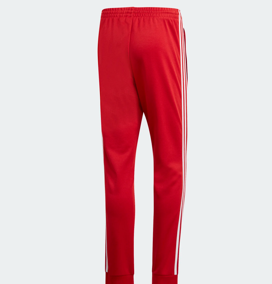 8c787281 Brand new Adidas Red Pants SST TP DV1534 %100 Authentic