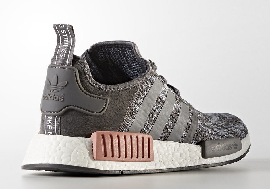 outlet store 316d3 e85c3 New adidas nmd r1 heather gray raw original bY9647