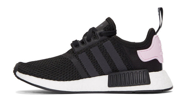 the best attitude 16b53 ec75c New adidas woman's nmd r1 running shoes black and white B37649