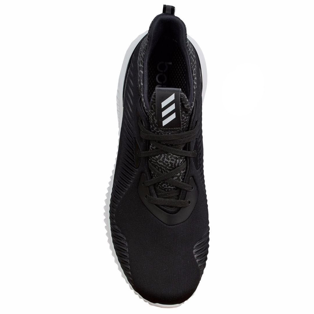 3ffaec4e7d3c0 NEW MEN S ADIDAS ALPHA BOUNCE RC BLACK WHITE B54189 ALAIVABLE IN ONLY SIZE  11