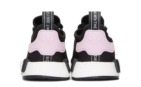 newest a34cd 93170 New adidas woman's nmd r1 running shoes black and white ...