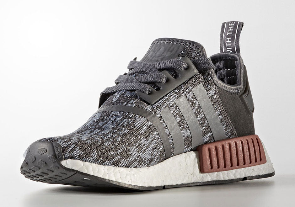 outlet store 3cc11 6020e New adidas nmd r1 heather gray raw original bY9647