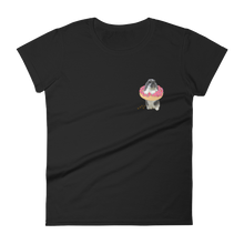women's donut bun t-shirt