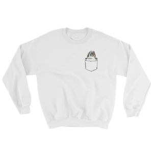 unisex charlie in my pocket sweatshirt