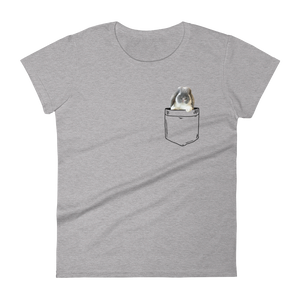women's charlie in my pocket t-shirt