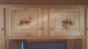 IceCastle Fish House Cabinet Doors / Wood Trimming