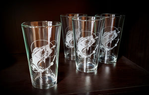 Bass Glassware-Set of 4