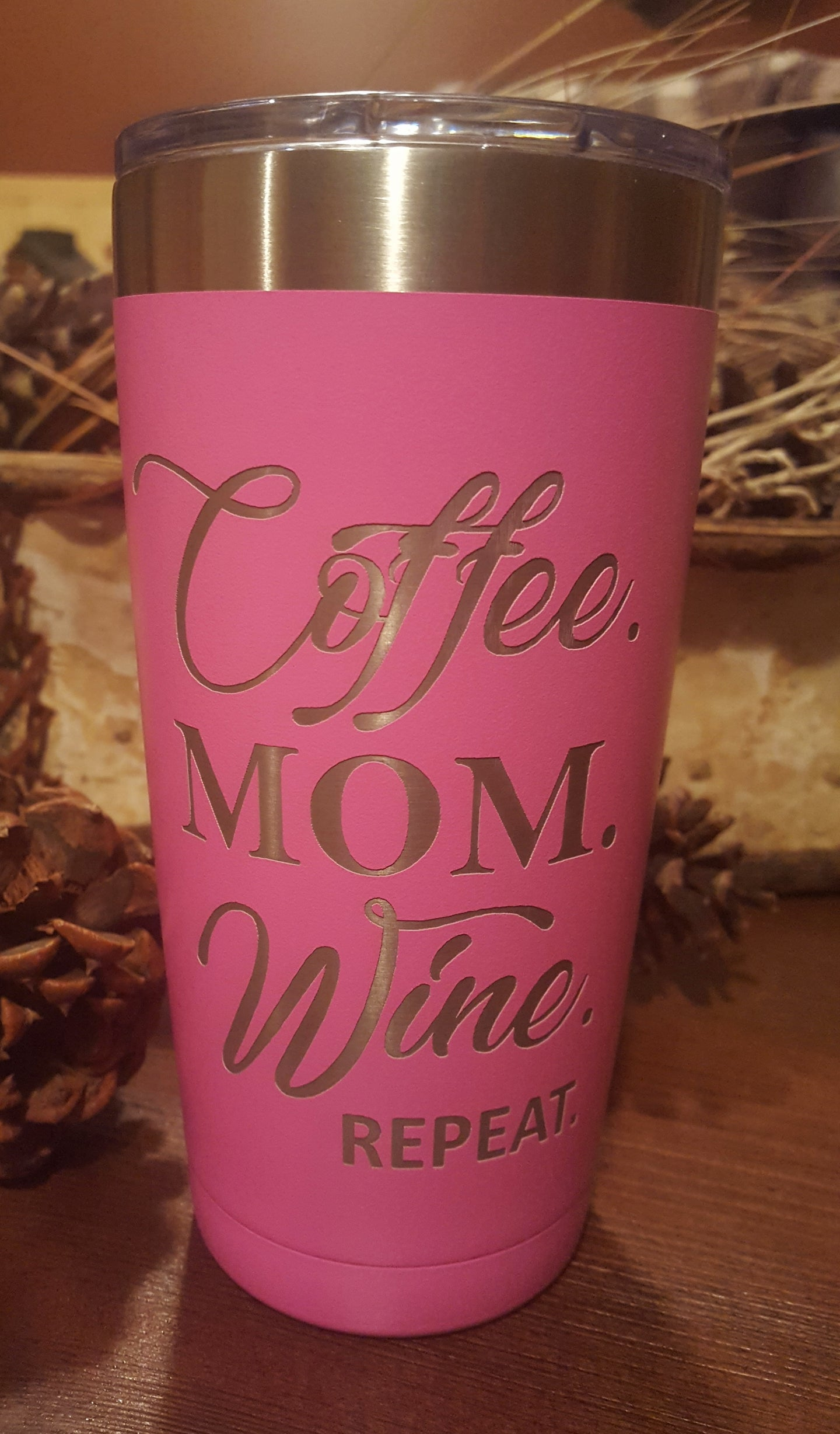 COFFEE. MOM. WINE. REPEAT.