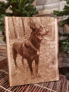PERSONALIZED WOOD PHOTO BOARDS