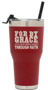 For by grace you have been saved through faith
