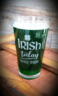 Irish Pub Glasses - Set of 2