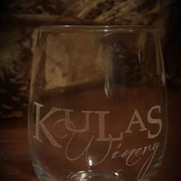 CUSTOMIZED -  STEMLESS WINE GLASSES