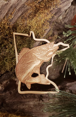 Minnesota Walleye Ornament