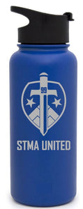 32 Ounce STMA Water Bottle with 2 Lids