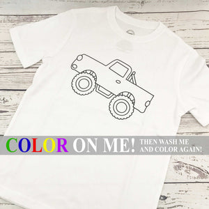 Toddler Size Color Me T-Shirt
