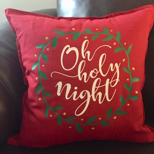 Christmas Pillow Cover ONLY