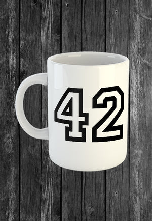 Exclusive Handmade Mug 42 College | Mugs With Sayings, Personalised Gifts, Presents, Drinkware, Kitchen, Chest Candy