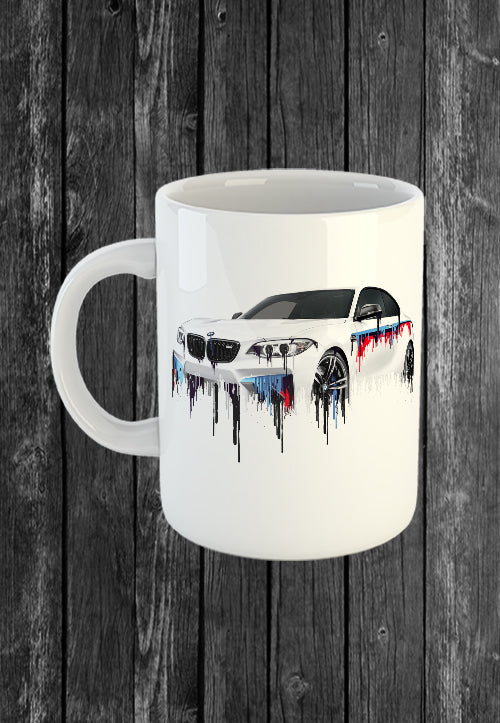 Exclusive Handmade Mug BMW M2 | Mugs With Sayings, Personalised Gifts, Presents, Drinkware, Kitchen, Liquid Metal