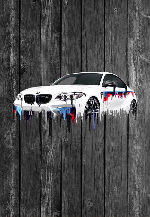 BMW M2 Liquid Metal | Tshirt, Tshirt Men, Tshirt Women, Custom T, Bespoke T-shirt, Apparel, Clothing