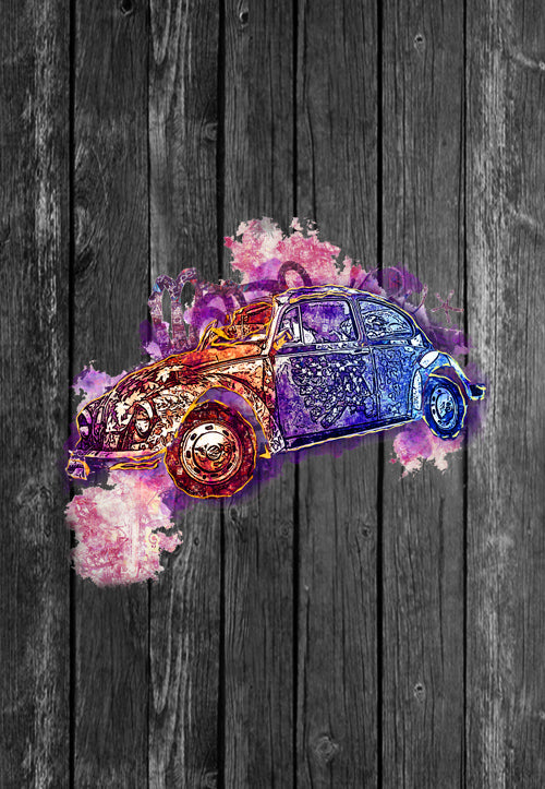 VW Volkswagon Vdub Beetle Street Art | Tshirt, Tshirt Men, Tshirt Women, Custom T, Bespoke T-shirt, Apparel, Clothing