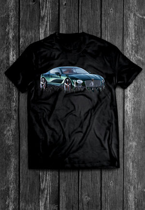 Bentley Continental Liquid Metal | Tshirt, Tshirt Men, Tshirt Women, Custom T, Bespoke T-shirt, Apparel, Clothing