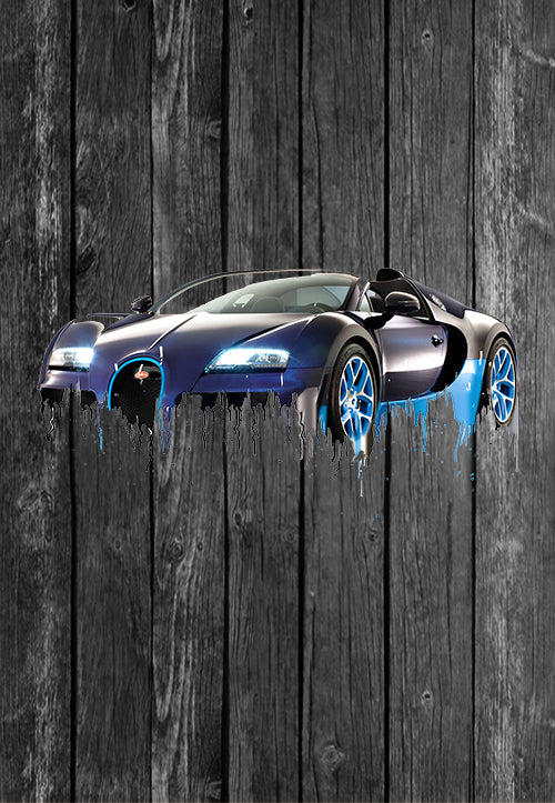 Exclusive Handmade Mug Bugatti Veyron | Mugs With Sayings, Personalised Gifts, Presents, Drinkware, Kitchen, Liquid Metal