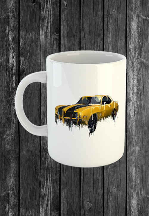 Exclusive Handmade Mug 69 Camero | Mugs With Sayings, Personalised Gifts, Presents, Drinkware, Kitchen, Liquid Metal