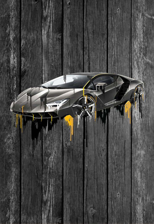 Exclusive Handmade Mug Lamborghini Centenario | Mugs With Sayings, Personalised Gifts, Presents, Drinkware, Kitchen, Liquid Metal