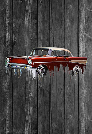 Chevrolet Bel Air Liquid Metal | Tshirt, Tshirt Men, Tshirt Women, Custom T, Bespoke T-shirt, Apparel, Clothing