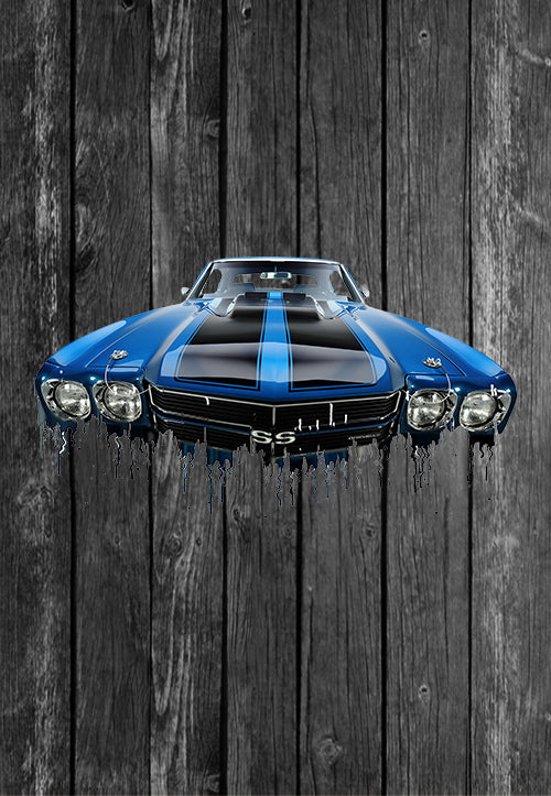 Exclusive Handmade Mug Chevrolet Chevelle | Mugs With Sayings, Personalised Gifts, Presents, Drinkware, Kitchen, Liquid Metal