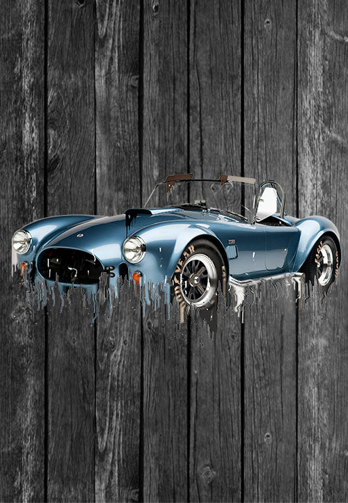 Exclusive Handmade Mug AC Cobra | Mugs With Sayings, Personalised Gifts, Presents, Drinkware, Kitchen, Liquid Metal