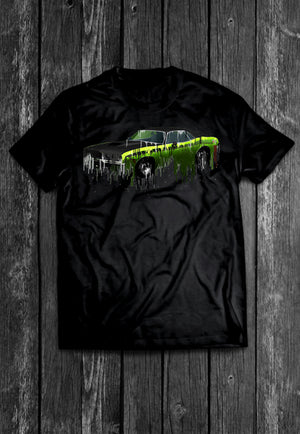 Plymouth Cuda MOPAR Liquid Metal | Tshirt, Tshirt Men, Tshirt Women, Custom T, Bespoke T-shirt, Apparel, Clothing