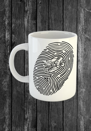Handmade Mug Its in My DNA Superbike Motorcycle | Mugs With Sayings, Personalised Gifts, Presents, Drinkware, Kitchen, Chest Candy