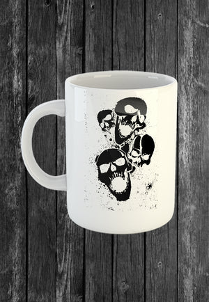 Exclusive Handmade Mug Decrepit Skulls | Mugs With Sayings, Personalised Gifts, Presents, Drinkware, Kitchen, Chest Candy