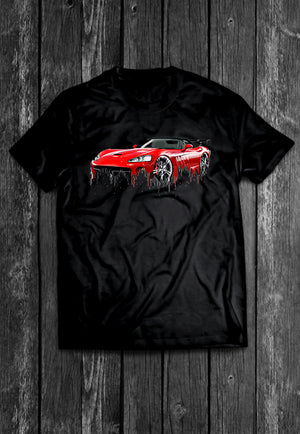Dodge Viper Liquid Metal | Tshirt, Tshirt Men, Tshirt Women, Custom T, Bespoke T-shirt, Apparel, Clothing
